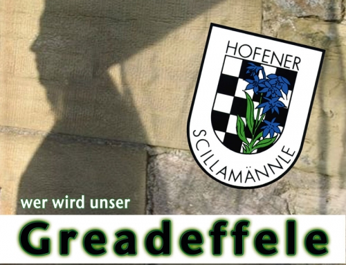 Save the Date! – Greadeffele 2018