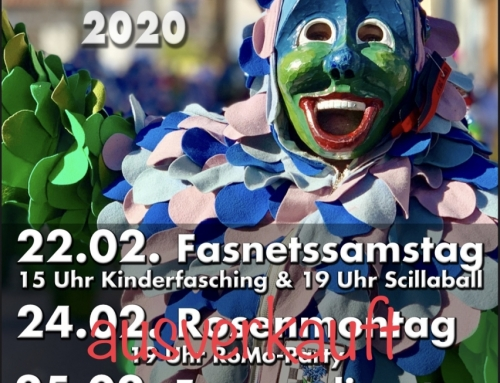 RoMo-Party AUSVERKAUFT – Info Scilla Ball / Kinderfasching